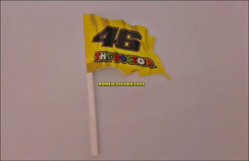 NEW!!! 1:12 Bandera Flag Valentino Rossi 46 The Doctor no minichamps Very RARE-
