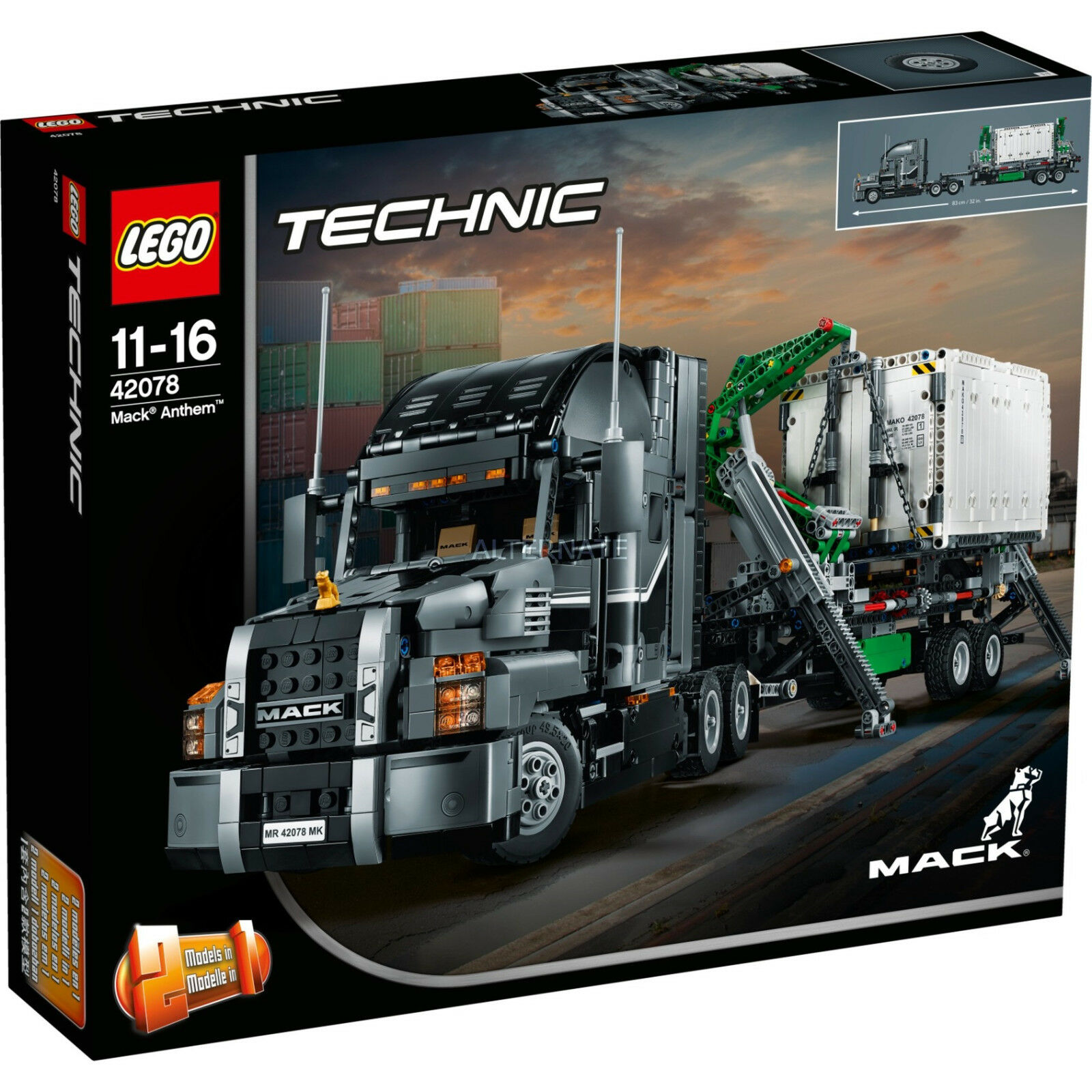 Lego 42078 Technic Mack Mack Mack hymne camion! = NEUF = = UK Stock =! | Formes élégantes  788b54