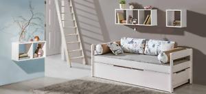Details zu Kinderzimmer Sofa Couch Holz Bett Schlaf Couchen Betten  Jugendzimmer Möbel Neu