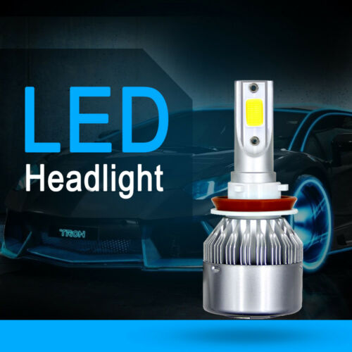 COB H8 H9 H11 C6 1500W 225000LM LED Car Headlight Kit Turbo Light Bulbs 6000K ws