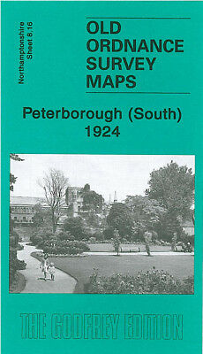 ORDNANCE SURVEY MAPS PETERBOROUGH /& DISTRICT MAP DEEPING ST JAMES 1906 S158 NEW