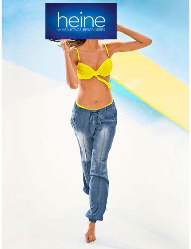 Heine Copa-bikini KP 69,90 € sale/%/%/% Cup C amarillo nuevo!!