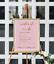 Wedding timeline print personalised custom copper foil sign order of events