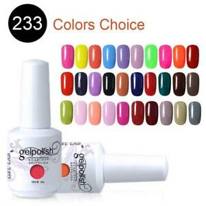 GEL-LAB-15ML-Candy-Color-Gel-Polish-Top-Base-Coat-Manicure-Varnish-Lacquer