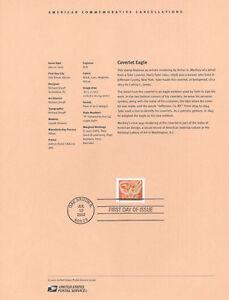 0219-60c-Coverlet-Eagle-Stamp-3646-Souvenir-Page