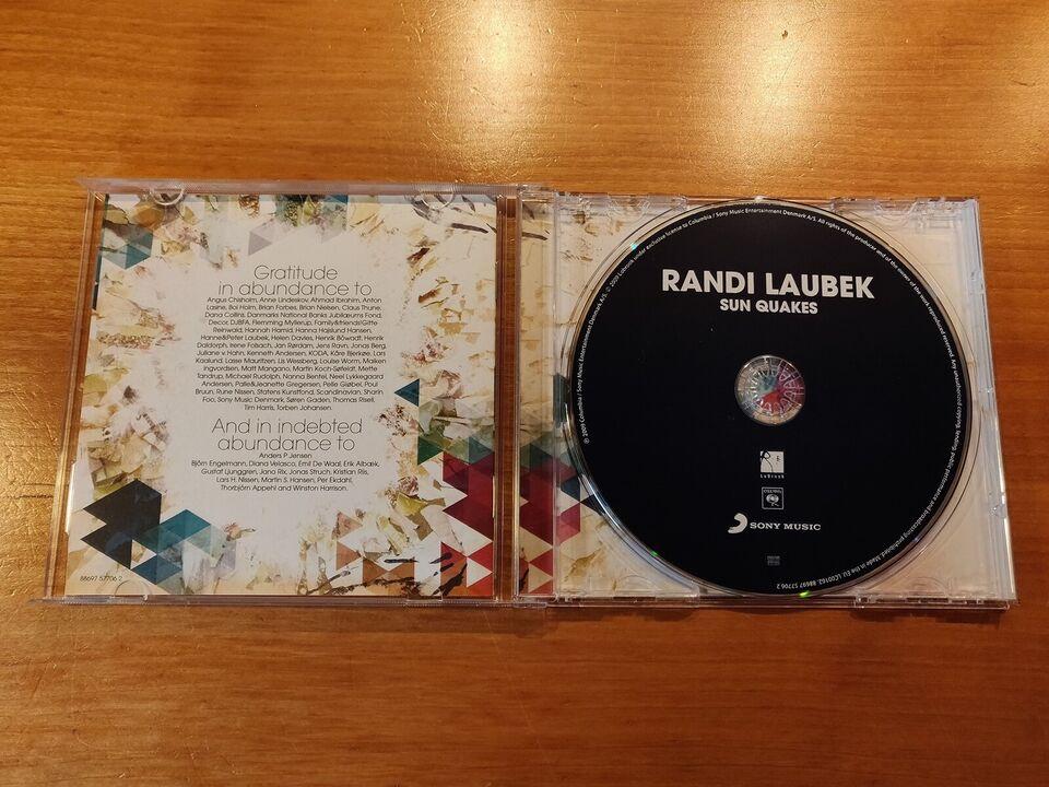 Randi Laubek: Sun Quakes, pop