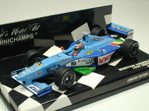 Minichamps 1 43 Benetton Show Car 1999 A. Wurz from Japan