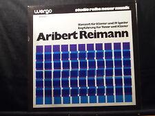 A. Reimann - Konzert für Klavier und 19 Spieler/Engführung für Tenor und Klavier
