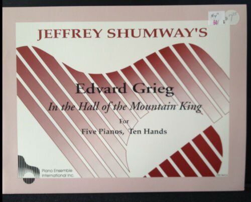 Ten Hands Jeffrey Shumway/'s Grieg The Hall of the Mountain  King  Five  Pianos