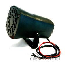 Loud 6 Tone Car Motorcycle Security Alarm Siren Horn #07