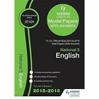 National 5 English 2015/16 SQA Past and Hodder Gibson Model Papers by SQA (Paperback, 2015)
