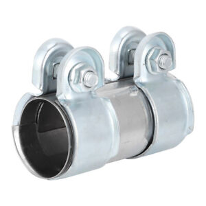 38-X-90mm-Exhaust-Pipe-Clamp-Exhaust-Pipe-Connector-Coupler-8Z0253141-For-DF