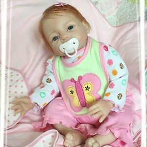22in-Toddler-Bebe-Reborn-baby-Girl-Doll-Silicone-Vinyl-Lifelike-Newborn-Toys
