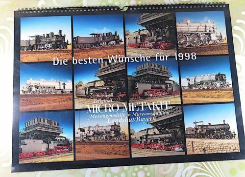 MICRO METAKIT - Wand-Kalender 1998 - #A10381
