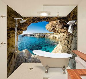 Details zu 3D Höhle 64 Tapete Badezimmer Drucken Abziehbild Mauer Deco AJ  WALLPAPER DE