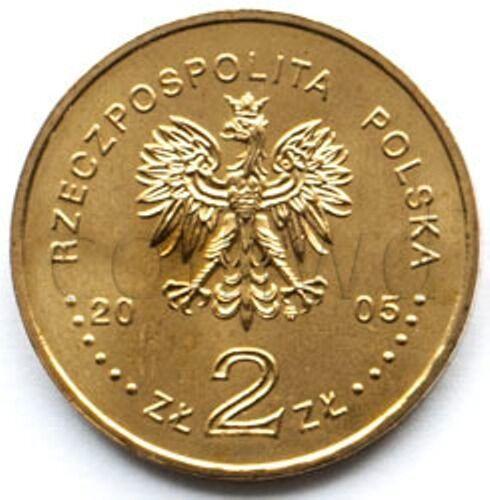 Poland 2 zloty 2005 Stanislaw August Poniatowski UNC #916