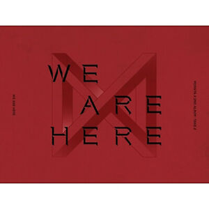 MONSTA-X-2nd-Album-Take-2-039-WE-ARE-HERE-VER-2-New-Sealed-Poster-Option