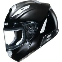 Shiro/fulmer Full Face 7000 Gloss Black Motorcycle Helmet Adult Size Xlarge