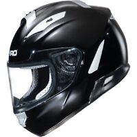 Shiro/fulmer Full Face 7000 Gloss Black Motorcycle Helmet Adult Size Xxlarge