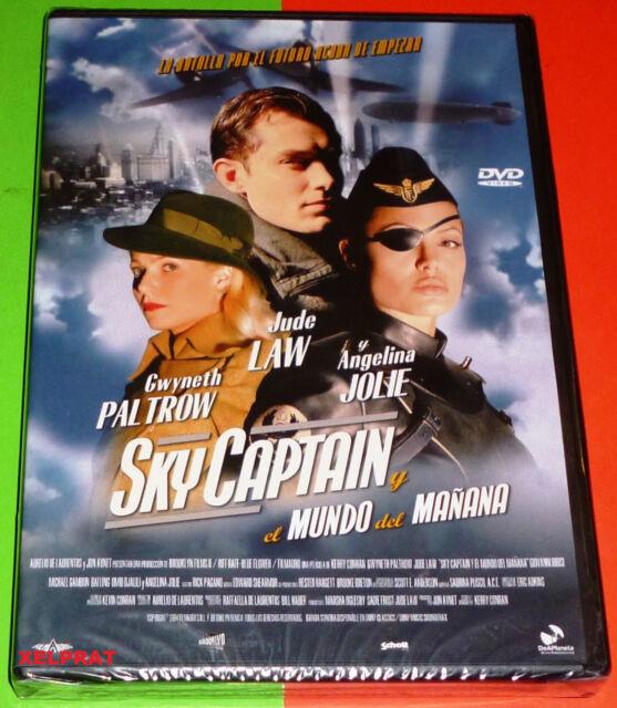SKY CAPTAIN Y EL MUNDO DEL MAÑANA -DVD R2- Precintada
