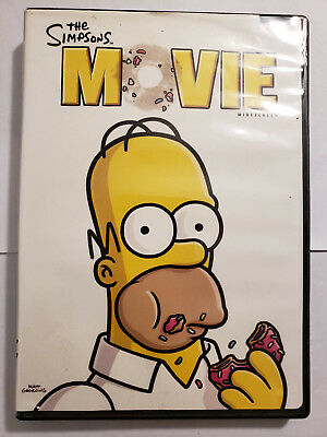 The Simpsons Movie Widescreen Edition Dvd 24543484271 Ebay