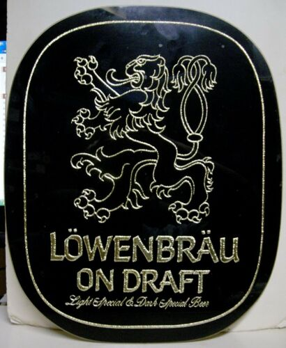 1970's Lowenbrau On Draft ROG Easelback Sign Milwaukee, WI