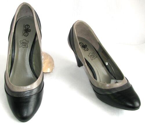 Grigio Court Nuovo e Heels 38 Shoes 39 Talpa Elite Similpelle Nero 6 5 scatola Cm 0qATgd7