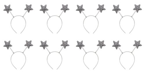 Zac/'s Alter Ego® Pack of 8 Glitter Star Head Boppers