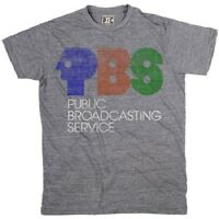 Palmer Cash Pbs Logo T-shirt Heather Grey 100% Authentic