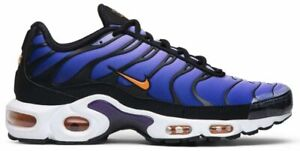 Nike-Air-Max-Plus-OG-TN-Purple-Orange-Black-BQ4629-002-Men-039-s-NEW