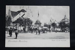 Postcard-Antique-Animated-Germany-Dusseldorfer-Ausstellung