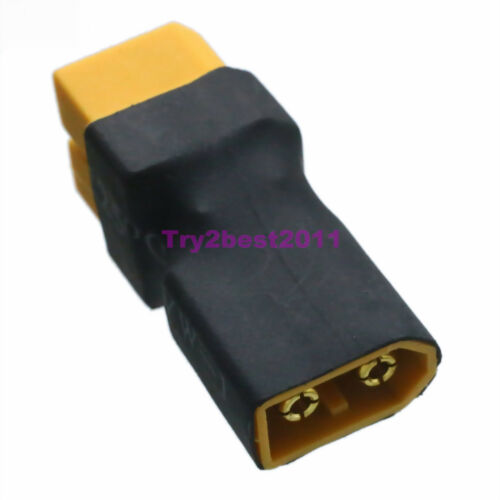 No Wires XT60 XT-60 Parallel Battery Connector 1 XT-60 Male to 2 XT-60 Female