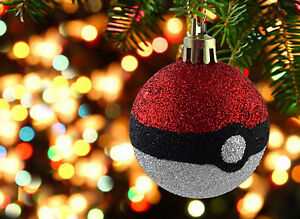 Pokemon Go Christmas decorations Bauble ornament Pokeball christmas tree |  eBay