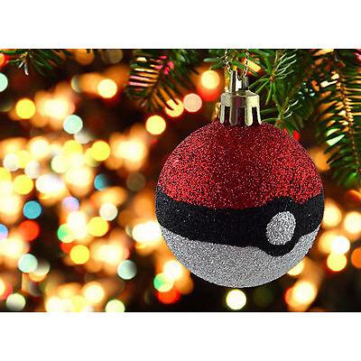 Pokemon Go Christmas decorations Bauble ornament Pokeball christmas tree