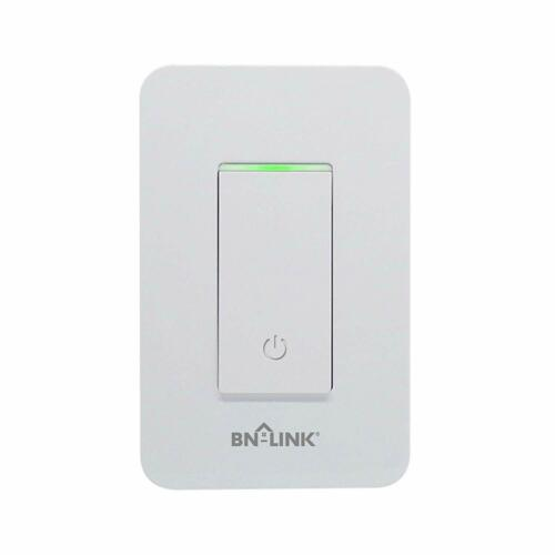 BN-LINK Smart In Wall Light Switch with Remote Control and Timer Function