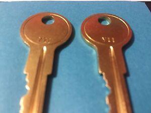 Details about 2 Graceland Portable Storage Shed & Barn Keys Codes 151 MK1  thru 200 MK1 MKI Key