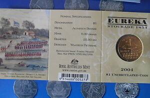 2004-EUREKA-STOCKADE-1-034-M-034-MINT-MARK-AUSTRALIAN-UNC-IN-ORIGINAL-MINT-FOLDER