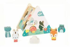 Janod-PURE-SHAPE-SORTER-Wooden-Toy-BN