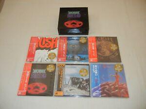 Rush JAPAN 6 titles Mini LP SHM-CD PROMO 2112 BOX SET