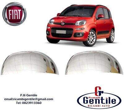 COPPIA CALOTTE FIAT PANDA /'12/> CROMATE LUCIDE
