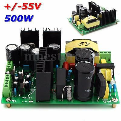 500W amplifier switching power supply board dual-voltage PSU +/-55V 50v 60v 65v