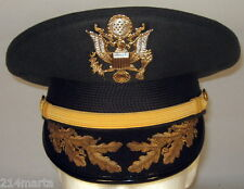 US Army Field Grade Officer Service Dress Greens Hat Cap Bullion 6 3/4 or 54