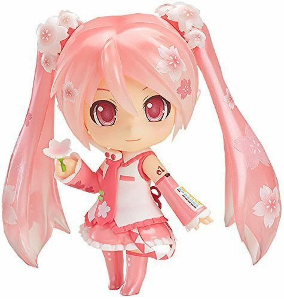 Hatsune Sakura Miku Nendorid Figurine fleuri au Japon avec suivi NEUF