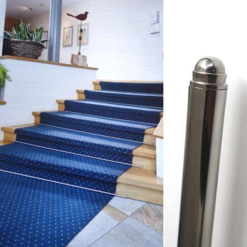 Escaliers tige avec extrémités en laiton creux brillance nickelés ø 11mm neuf escaliers tiges