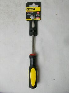 """Flat Standard Tip Screwdriver STANLEY 30-004  1//4/"""" x 4/"""" Long Shaft USA"""