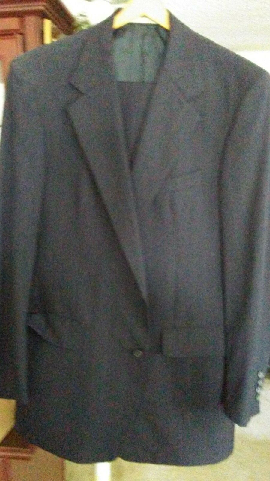 Men's Suit JOHN W NORDSTROM 100% WOOL Two Button 2 Piece 40R