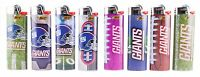 Bic Nfl York Giants Lighters Set Of 8, All Brand And Officially Licensed