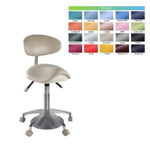 Standard Foot Controlled Dental Mobile Chair Saddle 1
