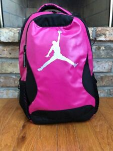 7437e040caa Kids Air Jordan Training Day Backpack 9A1807-V12 Pink/Black Brand ...