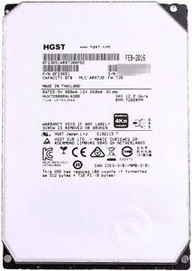 HGST 8TB SAS 12Gb//s Ultrastar He8 128MB HARD DRIVE HUH728080AL4200 4Kn